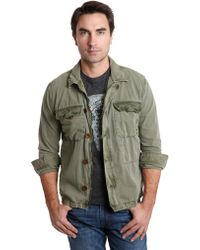 Lucky Brand Green Surplus Jacket - Lyst