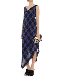 Vivienne Westwood Anglomania Revival Asterisk-Print Dress - Lyst