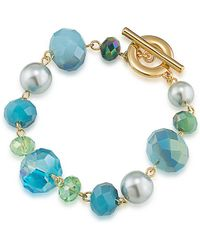 Carolee - Beaded Bracelet - Lyst