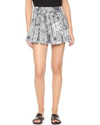 Raga | Smoking Rose Ruffle Skirt | Lyst