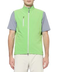Peter Millar - Seville Lightweight Sleeveless Jersey Golf Jacket - Lyst