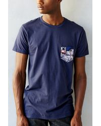 Urban Outfitters Space Mission Pocket Tee - Lyst