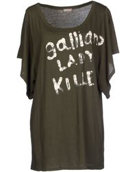 John Galliano Tshirt - Lyst