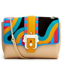 Paula Cademartori Carine Multicoloured Foldover Bag - Lyst