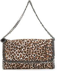 Stella McCartney Falabella Leopard-Print Shoulder Bag - Lyst