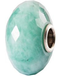 Trollbeads - Sterling Silver Faceted Gemstone Charm - Lyst