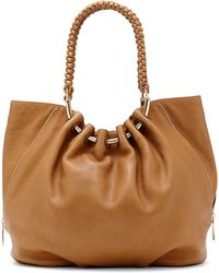 Vince Camuto Nora Leather Tote Bag - Lyst