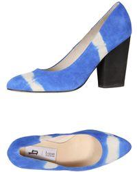 B Store Pump blue - Lyst