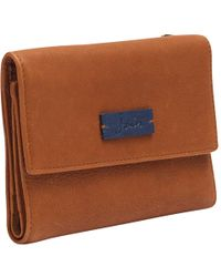 Joules - Finchley Leather Purse - Lyst