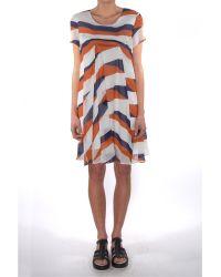 Kenzo Silk Crepe Long Sleeve Top - Lyst