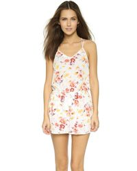 House of Harlow 1960 - April Strappy Romper - Winter White - Lyst