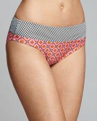 Profile Blush By Gottex Brigitte Mix Foldover Bikini Bottom - Lyst
