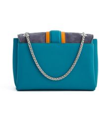 Paula Cademartori Colour Block Medium Shoulder Bag - Lyst