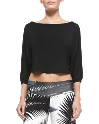 Rachel Pally Tamika Cropped Top - Lyst