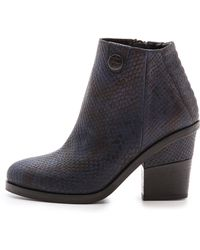 Surface To Air - La Paz Booties Navy - Lyst