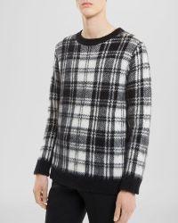 Sandro Black Thurston Sweater - Lyst