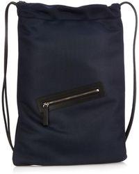 Jil Sander - Drawstring Nylon-Mesh Backpack - Lyst