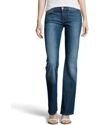 7 For All Mankind Bootcut Five Pocket Jeans - Lyst