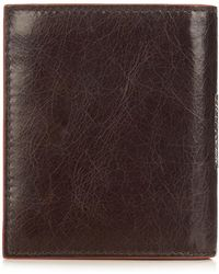 Simon Carter - Brown Leather Wallet - Lyst