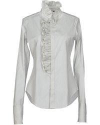 Ralph Lauren White Shirt - Lyst