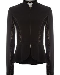 Alice By Temperley Solitaire Lace Panel Jacket - Lyst