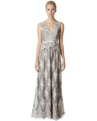 Erin Fetherston Lavender Lace Gown - Lyst