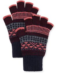Brora - Fingerless Gloves - Lyst