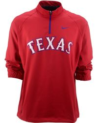 Nike Mens Texas Rangers Hot Corner Jacket - Lyst