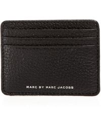 Marc By Marc Jacobs Classic Leather Card Holder - Lyst