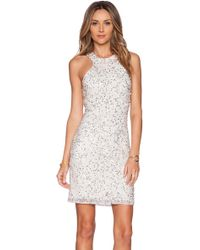 Parker Mariah Sequin Dress - Lyst