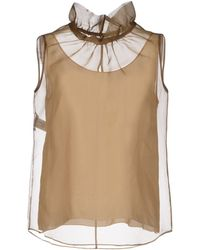 Moschino Cheap & Chic Top - Lyst