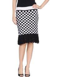 Rodarte Knee Length Skirt - Lyst