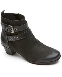 Rockport | Total Motion - Amy Strap Booties | Lyst