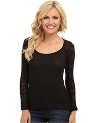 Lucky Brand Ginny Lace Thermal - Lyst