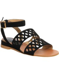 Office Oscar Cut Out Low Wedge Sandal - Lyst