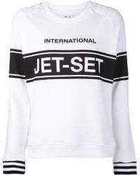 Zoe Karssen Jet Set T-shirt - Lyst