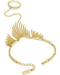 BaubleBar - Fringe Hand Chain - Lyst