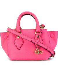 Diane von Furstenberg | Mini Voyage Itsy Leather Cross-Body Bag | Lyst