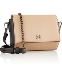 Halston Heritage Small Matte-leather Shoulder Bag - Lyst