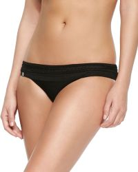 Hervé Léger Milla Braided Bandage Swim Bottom - Lyst