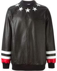 Givenchy Star Patch Jumper - Lyst