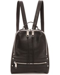 MILLY - Riley Backpack Black - Lyst