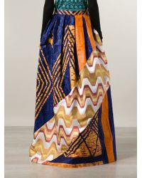 Duro Olowu - Patterned A-Line Skirt - Lyst