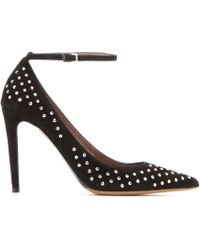 Tabitha Simmons Sable Suede Pumps - Lyst