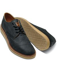Toms Aviator Twill Mens Brogues - Lyst