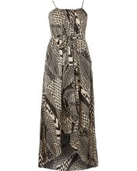 Samya Tribal Print Maxi Dress - Lyst