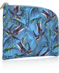 Matthew Williamson Songbird Printed Canvas Pouch - Lyst
