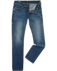 True Religion Rocco Super T Slim Leg Jean - Lyst