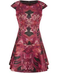 Ted Baker Jungle Orchid Dress - Lyst