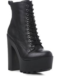 Steve Madden Globaal Platform Ankle Boots - For Women - Lyst